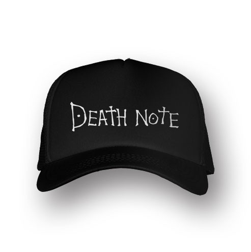 Boné Trucker Death Note - Preto