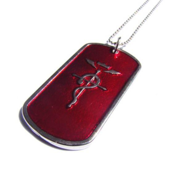 FMA-12 - Colar Medalha Alquimista