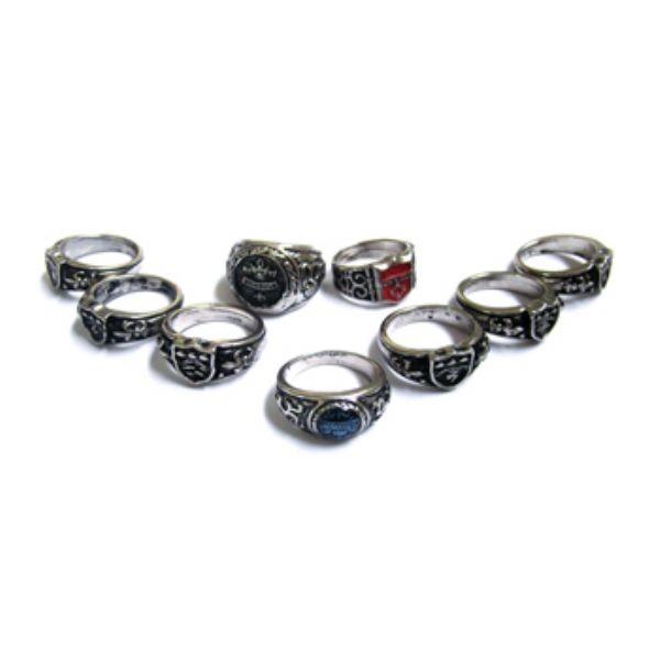KIT HR-03 - 8 Anéis Vongolas 1a Versão + 1 Varia + 1 Corrente