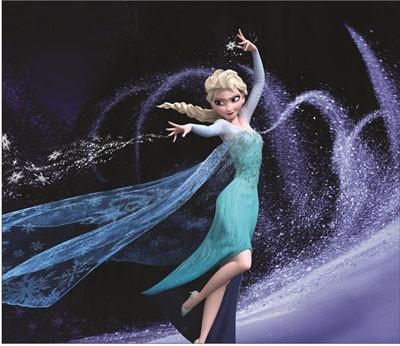 Mouse Pad - Elsa Poderes - Frozen