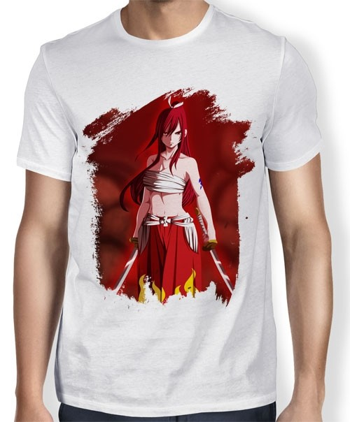 Camisa TN Erza Scarlet - Fairy Tail