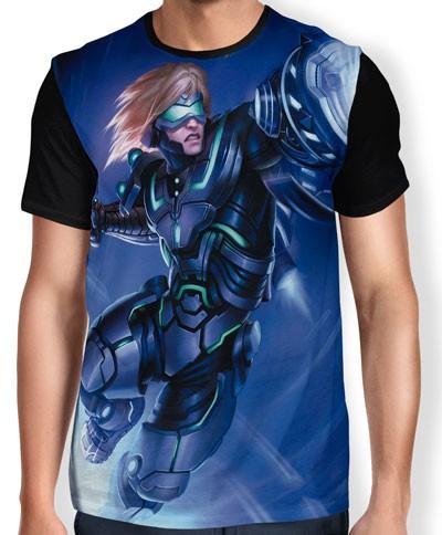 Camisa FULL Ezreal pulsfire - League of Legends