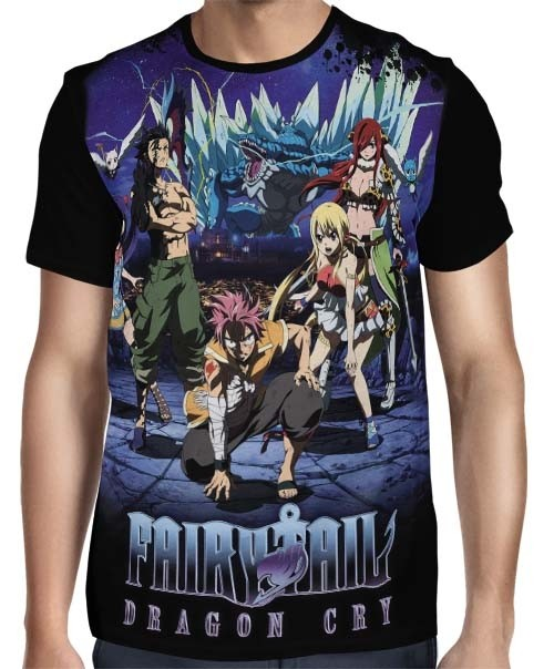 Camisa FULL Dragon Cry - Fairy Tail