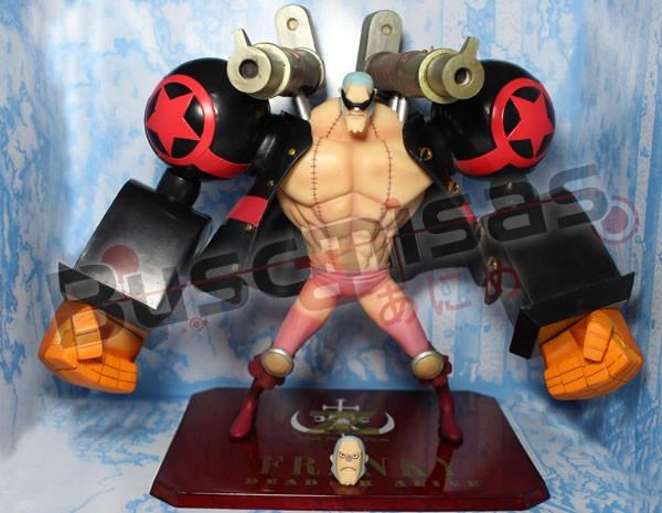 Action Figure  Franky filme Z - One Piece
