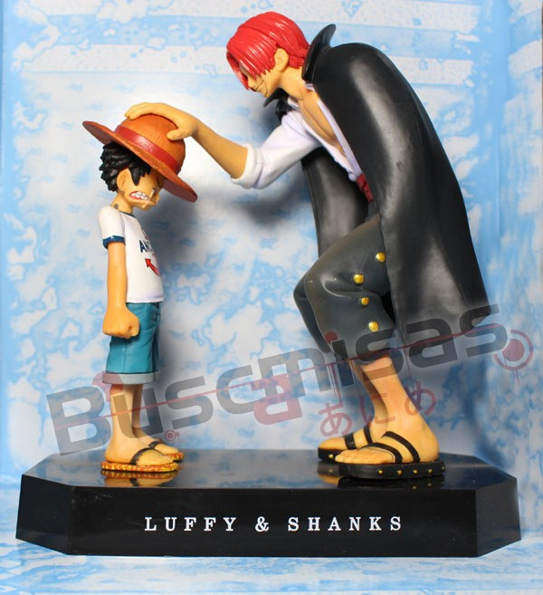 Action Figure Shanks e Luffy - One Piece