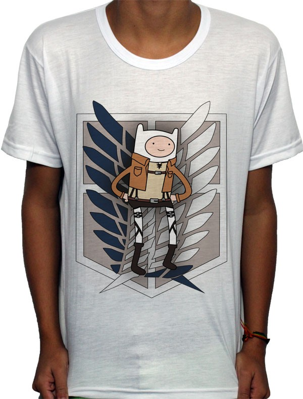 Camisa SB - Finn of Recon Corps