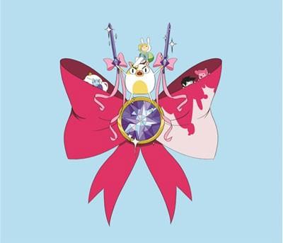 Mouse Pad - Fionna e Cake - Adventure Time