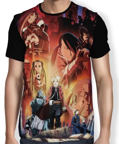 Camisa FULL Good Bad Guys - Fullmetal Alchemist