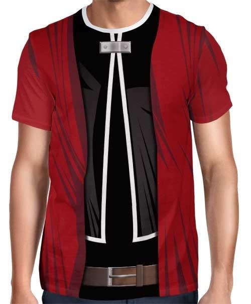 Camisa FULL Print Uniforme Edward Elric Mod. 1 - Fullmetal Alchemist