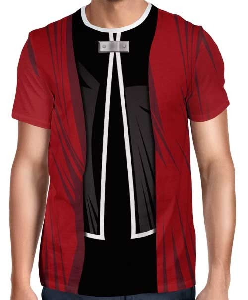Camisa FULL Print Uniforme Edward Elric Mod. 2 - Fullmetal Alchemist