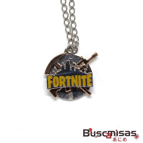 Colar Fortnite - Medalha Logo Giratoria Modelo 01