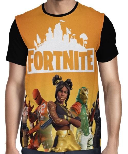 Camisa FULL Season 8 Modelo 2 - Fortnite