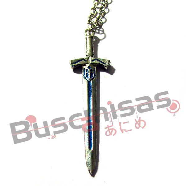 Colar Fate Stay Night - Estapada Saber Excalibur