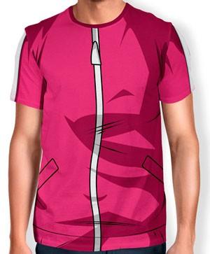 Camisa Full Print Uniforme - Androide 18 - Dragon ball