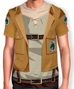 Camisa Full Print Uniforme - Policia Militar - snk