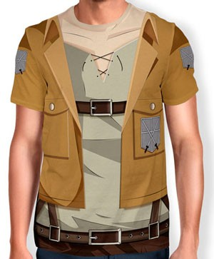 Camisa Full Print Uniforme - Legiao dos Sentinelas - snk