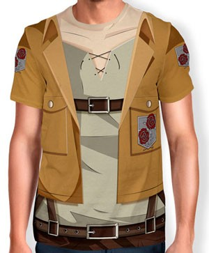 Camisa Full Print Uniforme - Tropa Estacionaria - snk