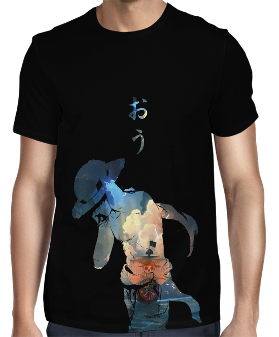 Camisa FULL - One Piece Exclusiva Luffy