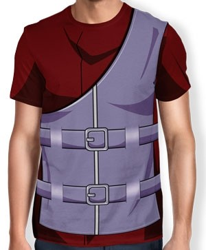 Camisa Full Print Uniforme - Gaara - Naruto