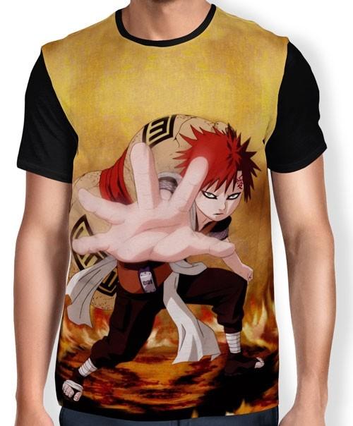 Camisa FULL Sabaku no Gaara - Naruto