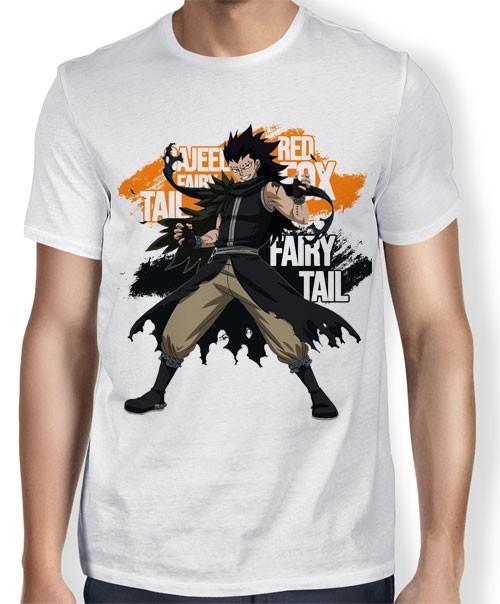 Camisa TN Gajeel - Fairy Tail