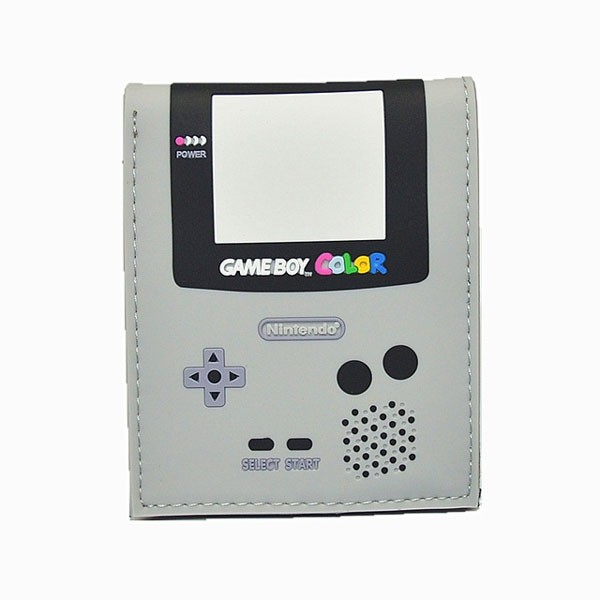 Carteira Premium Game Boy Color Cinza - Nintendo
