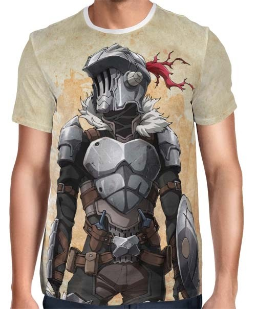 Camisa Full Print Goblin Slayer Stat Card