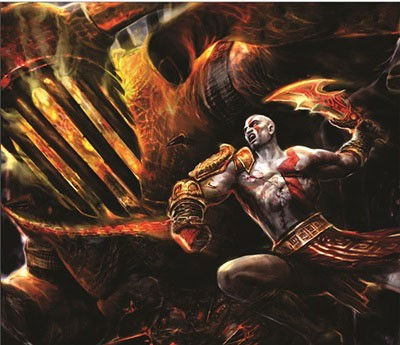 Mouse Pad - Kratos - God Of War