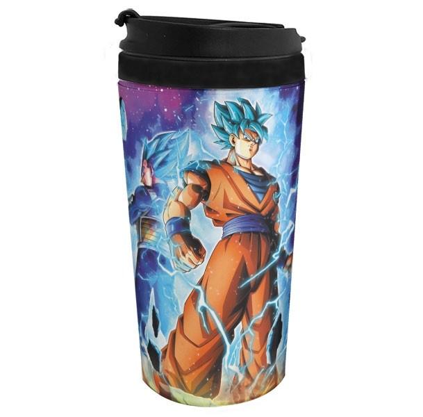 Copo Térmico Blue Gods Goku e Vegeta - Dragon Ball Super