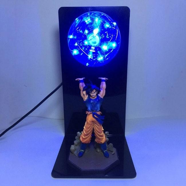 Luminária Action Figure Goku Genki Dama - Dragon Ball