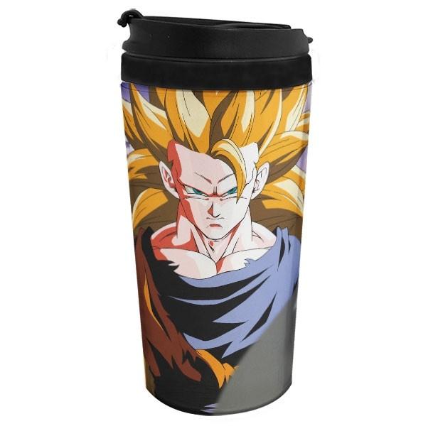 Copo Térmico Goku Super Sayajin 3 - Dragon Ball Z