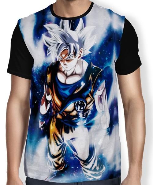 Camisa FULL  Instinct Goku Dokkan - Dragon Ball Super
