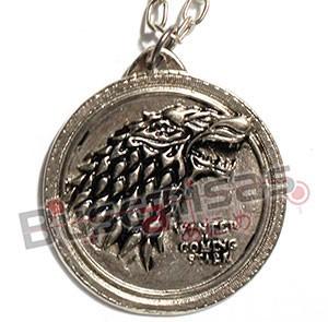 GOT-12 - Medalha Lobo Stark