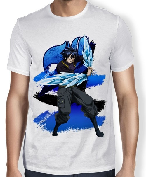 Camisa TN Gray ice make - Fairy Tail