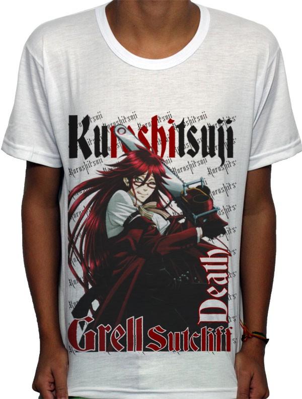 Camisa SB Grell Sutcliff - Kuroshitsuji