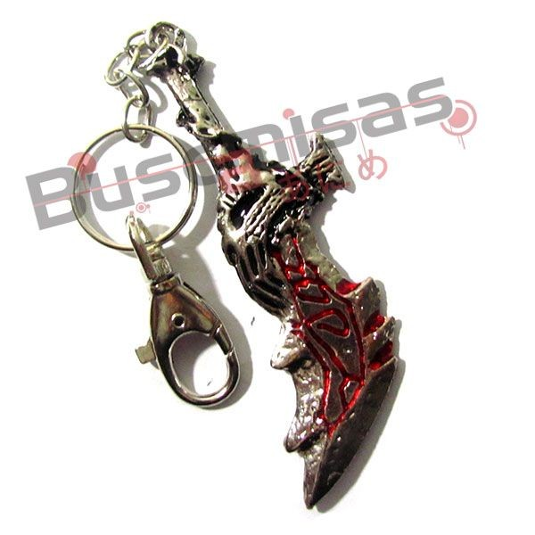 GW-01(CH) - Chaveiro Espada do Kratos - Blade of Chaos
