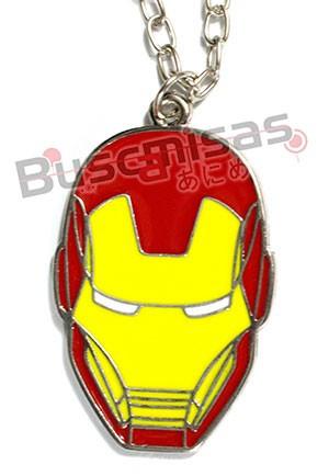 HF-01 - Colar Mascara Homem Ferro