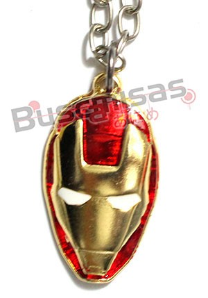 HF-02 - Colar Mascara Homem Ferro