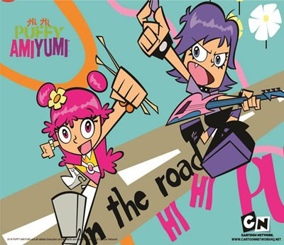 Mouse Pad - On The Road - HiHi Puffy Ami Yumi