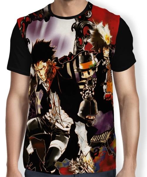 Camisa FULL Tsuna Xanxus Leon - Katekyō Hitman Reborn!