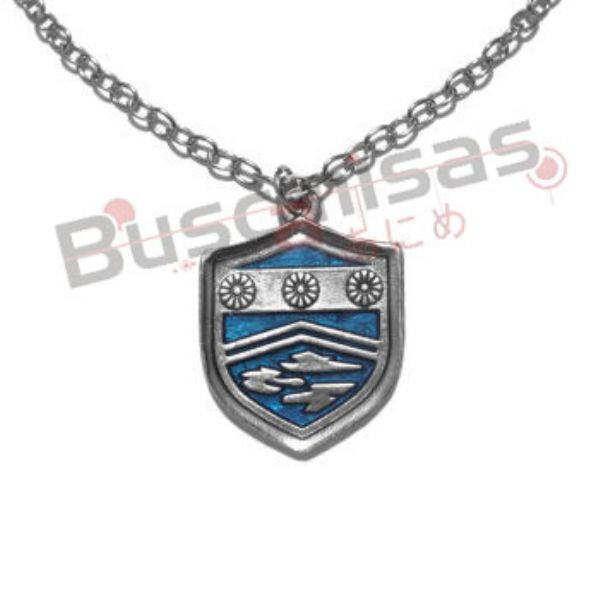 HR-23 - Colar Medalha da Névoa