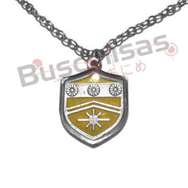 HR-26 - Colar Medalha Sol