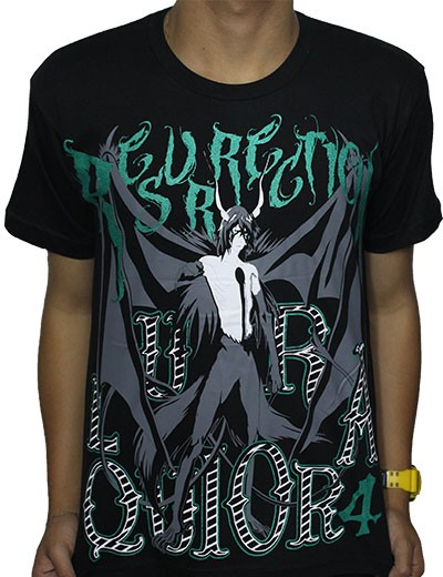 Camisa Bleach - Ulquiorra Resurrection