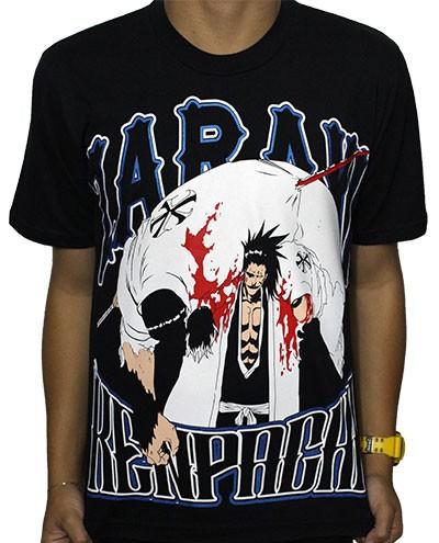 Camisa Bleach - New Zaraki