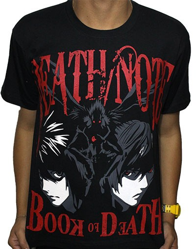 Camisa Death Note - Ryuuku Raito L - New