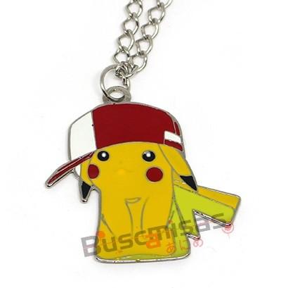 POK-27 - Colar Pikachu com Boné - Pokémon