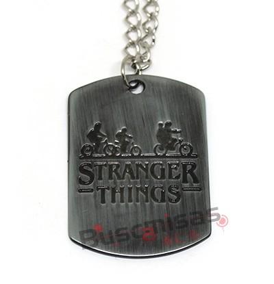 STH-02 - Colar Logo Stranger Things