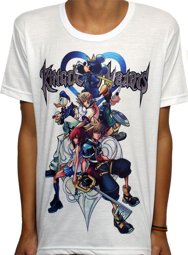 Camisa SB Kingdom Hearts