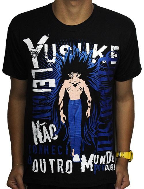 Camisa Yu Yu Hakusho - Yusuke Urameshi Youkai