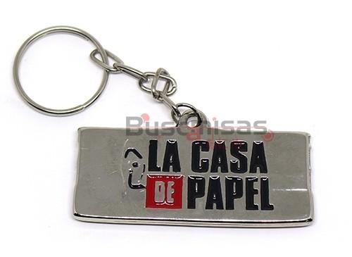 LCP-03(CH) - Chaveiro Logo - La Casa de Papel